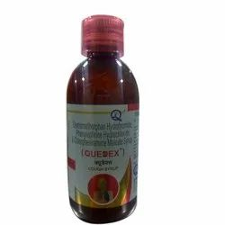 Quedex Cough Syrup, Bottle Size: 60 mL