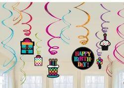 Amscan Birthday Party On Swirl Decoration