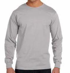 Mens Round Neck Full Sleeve T Shirts