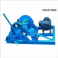 ConCat Three Phase Winch Machine, For Construction, Capacity: 2 Ton