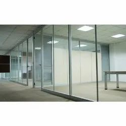 Aluminum Glass Office Partition