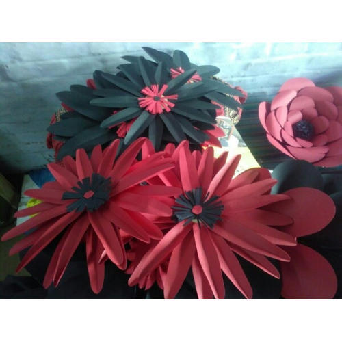 Paper craft flower at rs 30 piece haath ke bane phool harivrund paper craft flower mightylinksfo