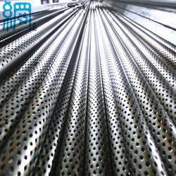 Rks Stainless Steel Perforated Metal Pipes, For Drinking Water, Size: 3 inch