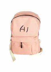 Light Peach Kid Bag