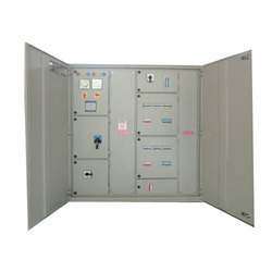 Stainless Steel Three Phase Double Door Control Panel, IP Rating: IP52