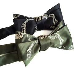 Animal Print Bow Ties