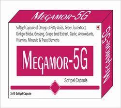 Omega 3 Fatty Acid 150 Mg Green Tea Ext. 40mg Ginkgo Biloba Ext. 10mg  Ginseng Ext.