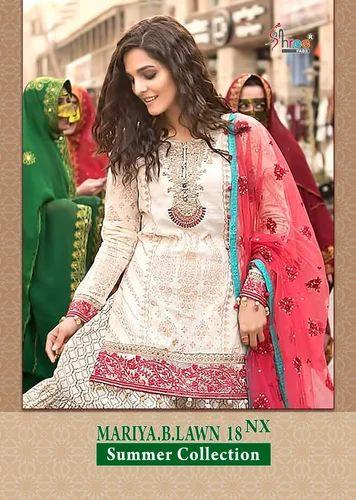c10546eb2f Cotton Mariya B Lawn Summer Collection 18 NX Cotton Salwar Kameez ...