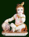 Makkhan Chor Bal Gopal Stone Statue