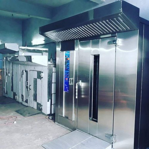 Three Phase Electric Rotary Rack Oven