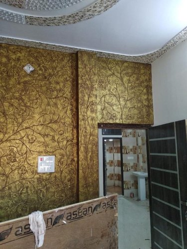 super mettalic  gold design texture paint