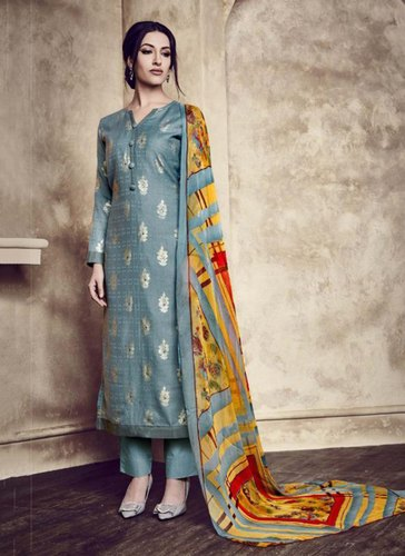 96dbac421e137 Cotton Surat Wholesale Shop Foil Printed Daily Wear Palazzo Suits ...