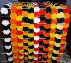 Dual Color Artificial Decorative Flower Garland
