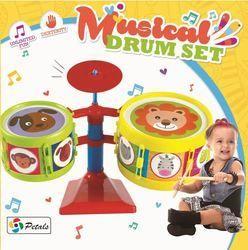 Drum Set Musical Preschool Toddler Toy