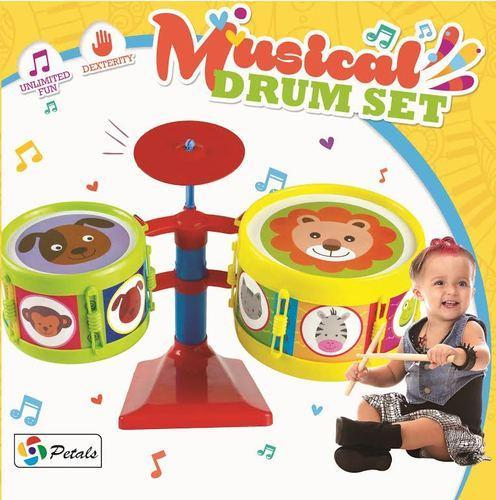 Petals Drum Set Musical Preschool Toddler Toy Rs 225 Piece Id