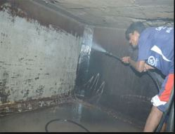 Water Tank - Pressure Jet Floor Cleaning Service