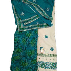 Party Wear Unstitched Printed Patiala Salwar Suit
