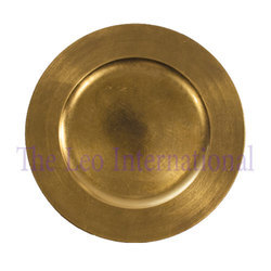 Brass Charger Plate NEW DESIGN