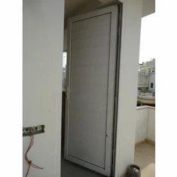 Residential White UPVC Door