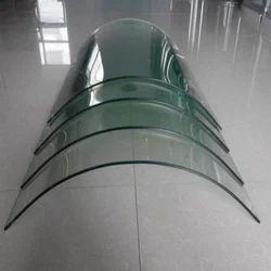 Transparent Bending Toughened Glass