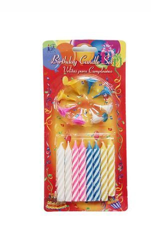 Large Birthday Candles At Rs 49 Packet