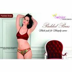 9d9165167704 Ladies Bra And Panty Set - Ladies Angel Padded Red Bra And Panty Set ...