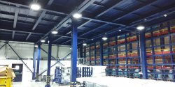 Structural Steel Mezzanine Floor