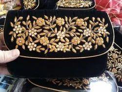 Zardozi Embroidered Clutch