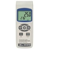 LUTRON - ANEMOMETER - type K-J Temp., SD Card real time data recorder - Model No-AM-4207SD, 4100B