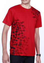 Cotton Red T-Shirt