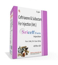 Ceftriaxone And Sulbactam For Injection (Vet)