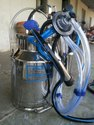 Milking Machine Double Bucket
