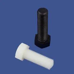 Plastic Full Threaded Bolt, Size: 2-5 Inch(Length)