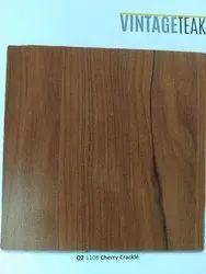 Sunmica Wood Grains Vintageteak Cherry Laminate Sheet, Dimension: 8' x 4', Thickness: 0.8 Mm