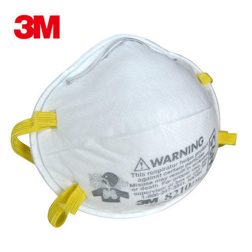 Titan Id 8210 3m Disposable Respirator N95 Minetech Mask