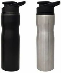 Black Stainless Steel H2o Water Bottle 750ml, Model Name/Number: Rengvo Ss-001