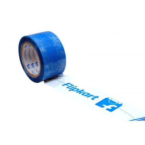 Picknpack Printed Blue Tapes 48mm x 65meter