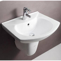 Hindware Studio Half Pedestal Wash Basin