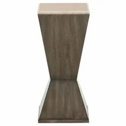 Brown Modern Wooden Table, Size: 34-38 Heights