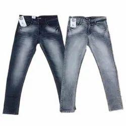 Faded Men Party Wear Jeans, Waist Size: 32