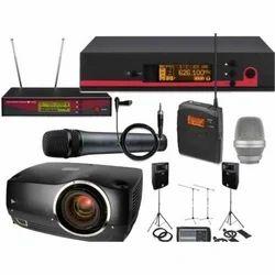 Audio Visual Equipments Rental Service