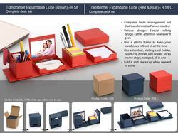 Transformer Expandable Cube: Complete Desk Set