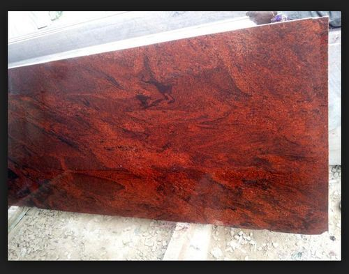 Red Granite Slab Usage Flooring Countertops Wall Tile