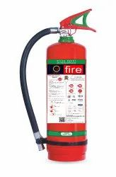 Qfire Red 2kg - 6kg Clean Agent Stored Pressure Fire Extinguishers