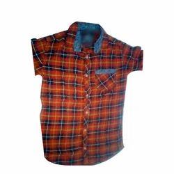 Cotton Festive Wear Boys Casual Shirt