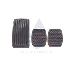 Accelerator Clutch Brake Pedal Pads Covers Rubber Set For Suzuki Samurai SJ410 SJ413 Sierra Gypsy