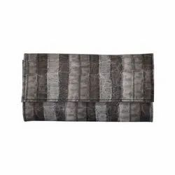 Azzra Black Wallet Clutch