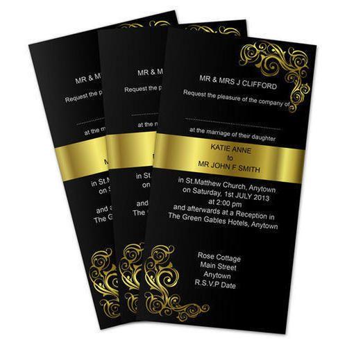 Invitation Card Designing Service In Okhla Industrial Area