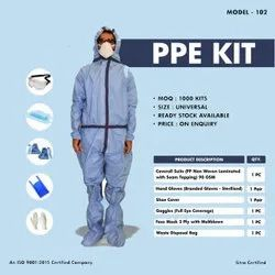 Covid19 Sterile PPE Kit With Lamination & Seam Protection Tape