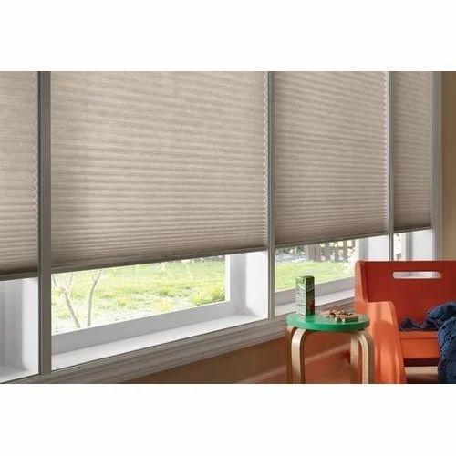 PVC Rectangular Honeycomb Window Blind